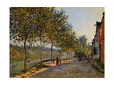 June Morning, 1884 Giclee Print by Alfred Sisley