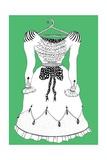 Air-Conditioned Dress, 2011 Giclee Print by Dariya Hlazatova