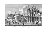 Venice: Church, 1735 Giclee Print by Antonio Visentini