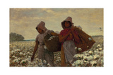 The Cotton Pickers Giclee Print by Winslow Homer