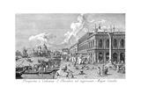 Venice: The Molo, 1735 Giclée-Druck von Antonio Visentini
