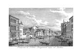 Venice: Grand Canal, 1735 Giclée-Druck von Antonio Visentini