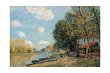 Moret, 1877 Giclee Print by Alfred Sisley