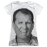 Juniors: Married With Children- Al Stink Face Shirts