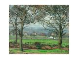 Sydenham Hill Reproduction giclée Premium par Camille Pissarro