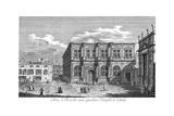 Venice: San Rocco, 1735 Giclée-Druck von Antonio Visentini