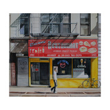 Darlene Restaurant, New York, 2013 Giclee Print by Georgia Peskett