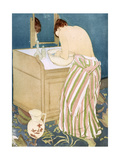 Toilette, 1891 Giclee Print by Mary Cassatt