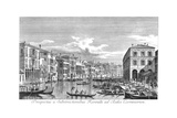 Venice: Grand Canal, 1735 Giclee Print by Antonio Visentini