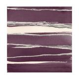 Silver Rose II Purple Plakater af Chris Paschke