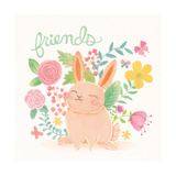 Garden Friends White II Prints by Mary Urban