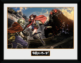 Kabaneri of the Iron Fortress- Landscape Collector-print