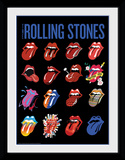 Rolling Stones- Tongues Collector Print