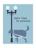 Unwind - Blue Version Poster di  Dog is Good