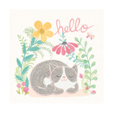 Garden Friends White VI Posters by Mary Urban