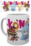 Konosuba - Chibi Mug Mug