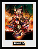 Kabaneri of the Iron Fortress- Collage Collector-tryk