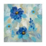 Blue Flowers Whisper II Posters by Silvia Vassileva