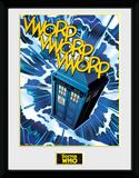 Doctor Who- Tardis Comic Collector-print