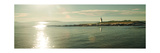 Lighthouse Sound Crop Premium Giclee Print by Sue Schlabach