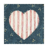 Americana Quilt I Poster by David Carter Brown