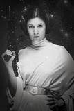 Star Wars- Cosmic Princess Leia Kunstdruck