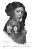 Star Wars- Leia Princess Rebel Champion Plakat