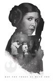 Star Wars- Leia Princess Rebel Champion Stampa