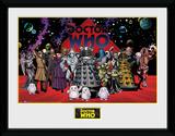 Doctor Who- Villains Landscape Collector-print