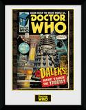 Doctor Who- Daleks Tardis Comic Collector-print