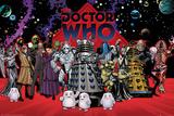 Doctor Who- Villians Compilation Plakater