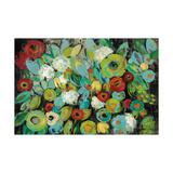 Fiesta Floral Crop Prints by Silvia Vassileva