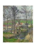 The Viosne, 1883 Reproduction giclée Premium par Camille Pissarro