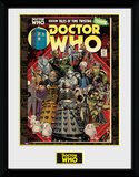 Doctor Who- Villains Comic Collector-tryk