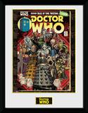 Doctor Who- Villains Comic Collector-print