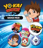 Yo-Kai- Watch Mix Badge Pack Badge