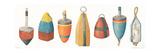 A Rare Catch Buoys V2 Print by Elyse DeNeige