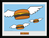 Bob's Burgers- Flying Burgers Collector-tryk