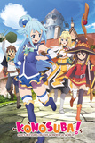 Konosuba- Key Art Foto