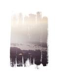Painted Seaside III Premium Giclee Print by Laura Marshall