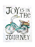 Joy is in the Journey Premium Giclee Print by Kellie Day