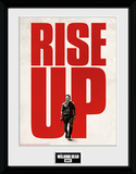 Walking Dead- Rise Up Collector-print