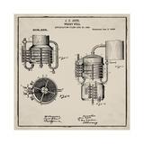 Whiskey Still 1906 Tan Impression giclée par Bill Cannon