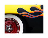 Hot Rod Flames Giclee Print by Clive Branson