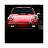 1970 Porsche 911 Targa Giclée-tryk af Clive Branson