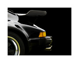 78 Porsche 930 Back Wing 2 Giclee Print by Clive Branson