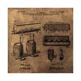Schmidts Tap 1900 Vintage Giclée-tryk af Bill Cannon