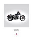 Harley Davidson XLH1000 Sports Giclee Print by Mark Rogan