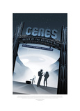Ceres- Queen Of The Asteroid B Giclée-tryk af JPL