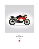 HD KR TT Road Racer 1968 Giclee Print by Mark Rogan